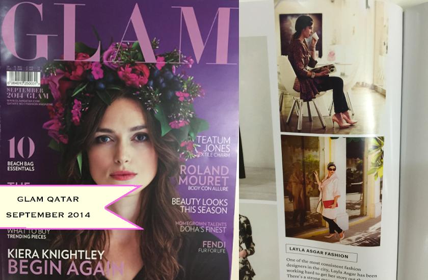 On Glam Qatar - September 2014