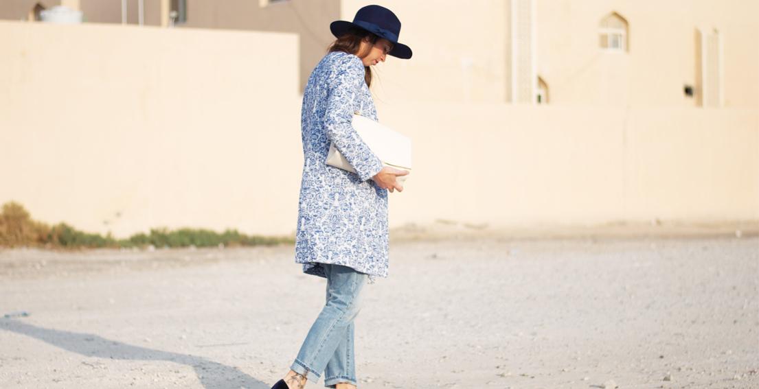 Those Zara Blue Velvet Shoes