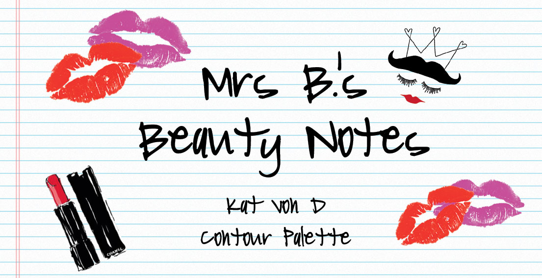 Beauty Notes – Kat Von D Contour Palette