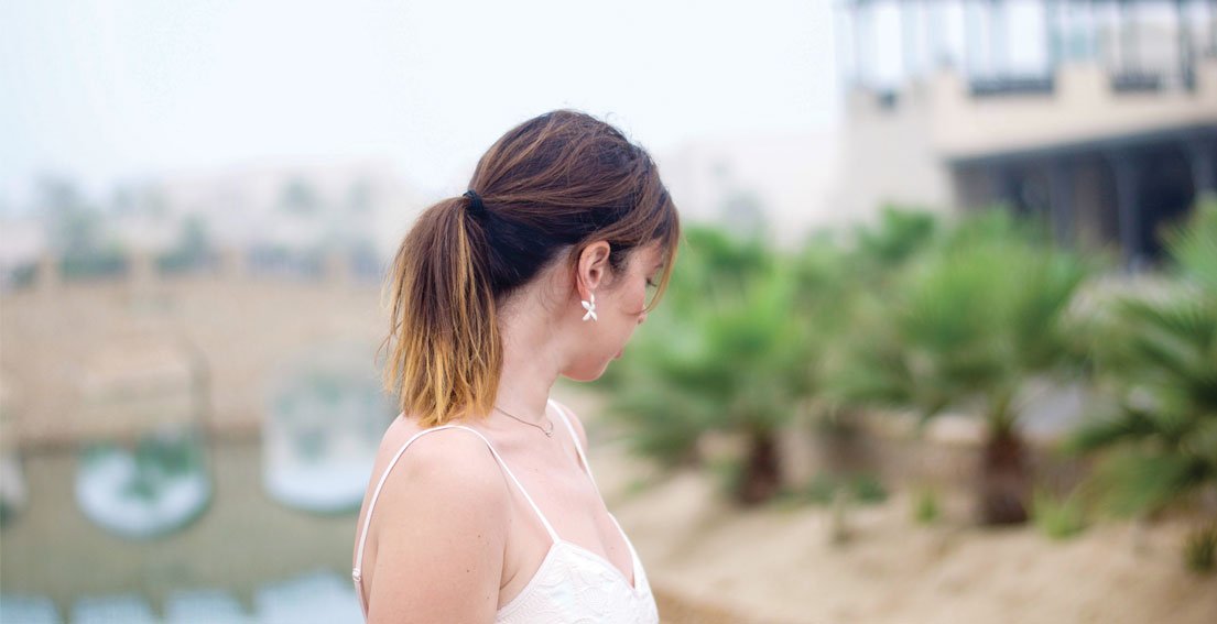 Day 2 In Oman – Summer Pink Dress