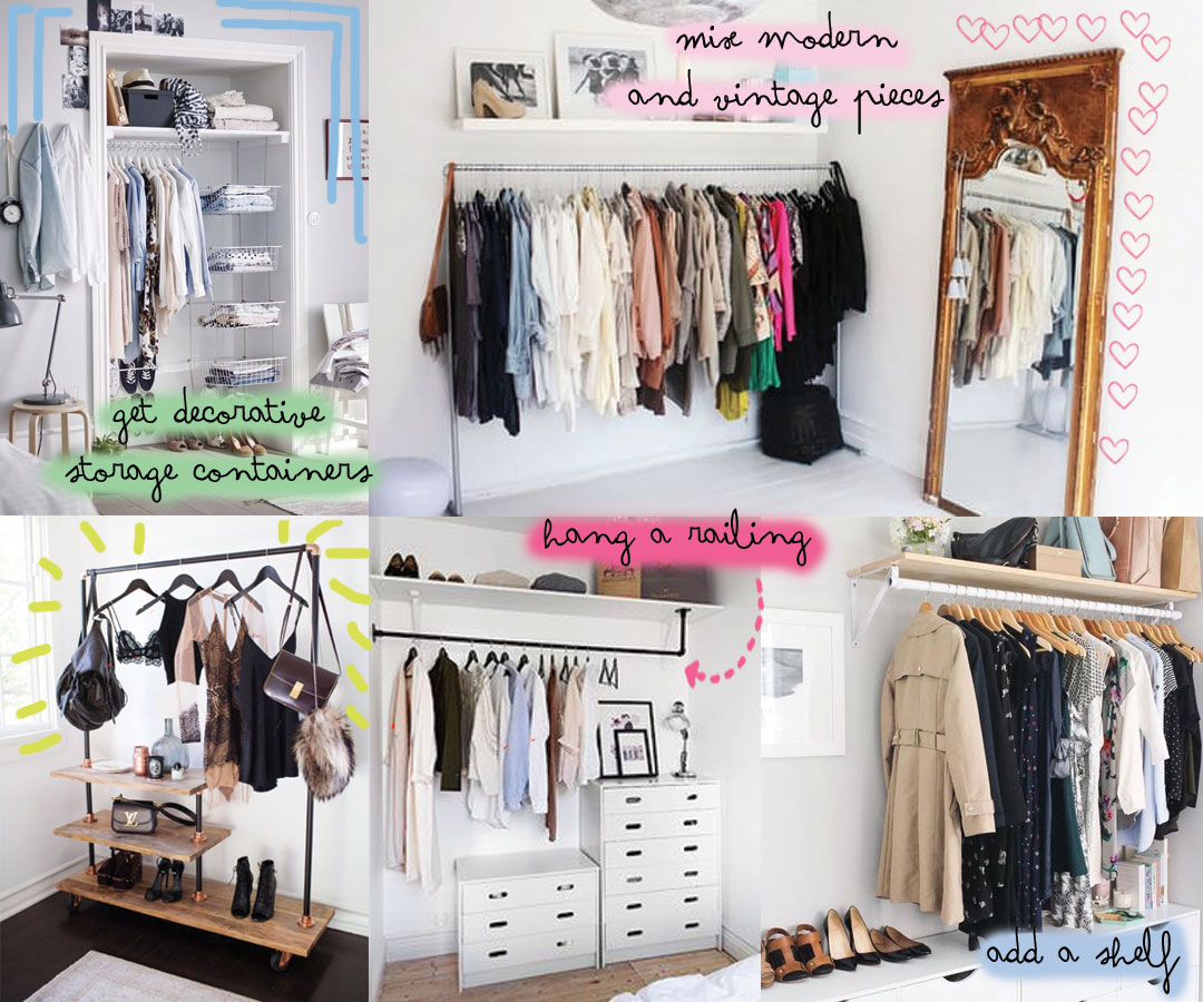 Storage Solutions For Bedrooms Without A Closet Rooms