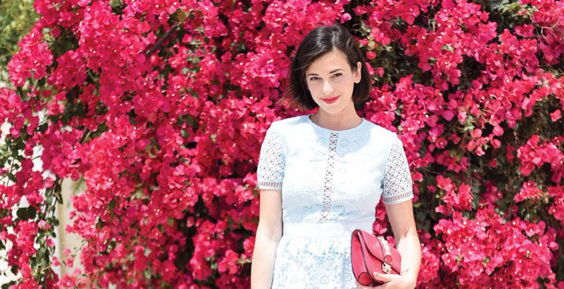 Bonjour Chiara Wears // Ted Baker Lace Dress
