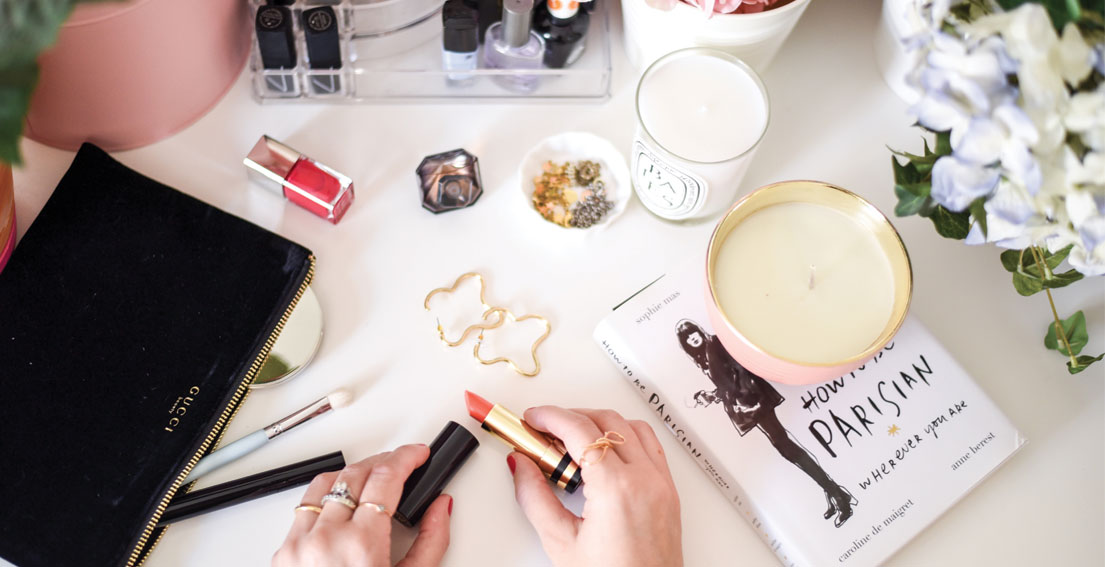 Bonjour Chiara loves // Gucci Sheer Lipstick