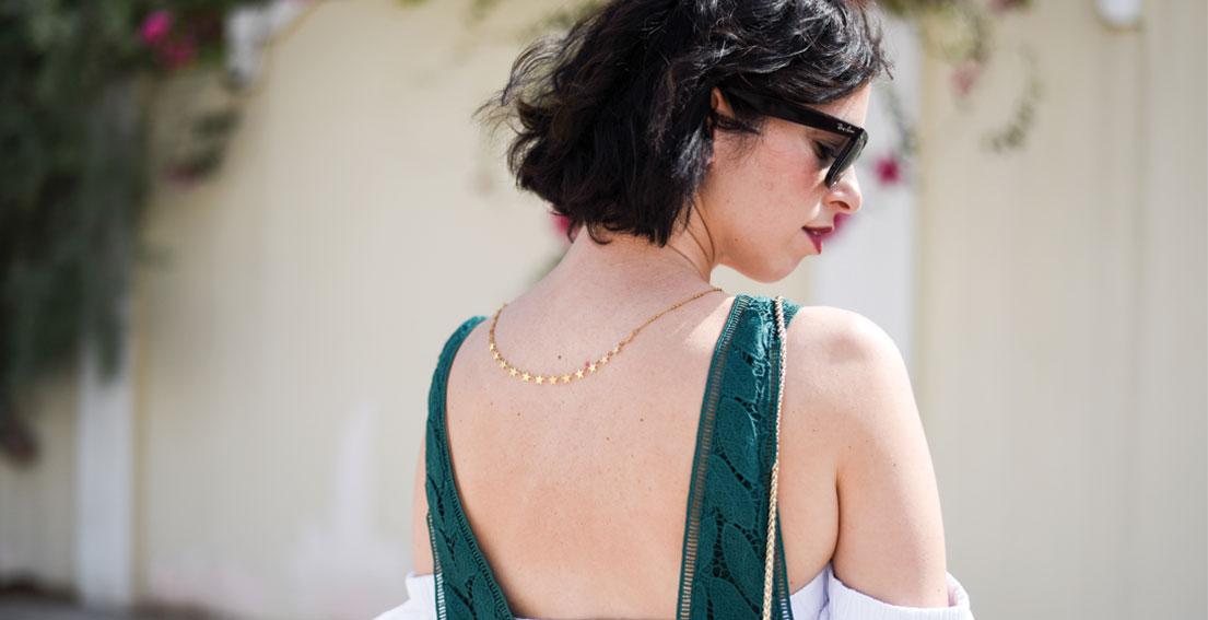 Bonjour Chiara Wears // Mango Dress ,H&M off the shoulder top, Furla Metropolis Bag
