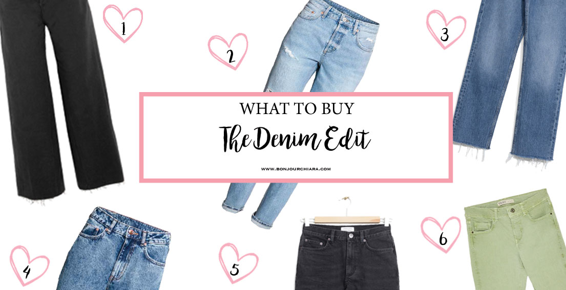 The Denim Edit - www.bonjourchiara.com