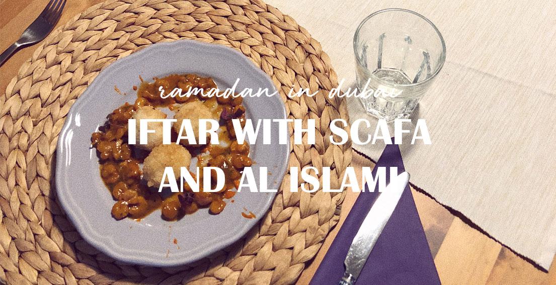 Iftar at home with SCAFA and AL Islami - Dubai